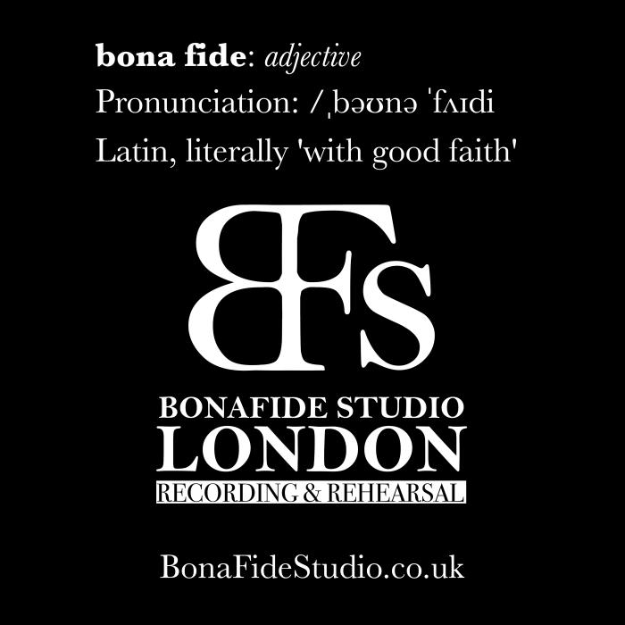 Recording studio with good faith